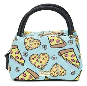 Betsey Johnson 🍕Pizza Print Satchel Lunch bag